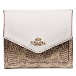 Coach small signature wallet